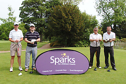 TEAM CONCRETE FLOORING, Celebrity Mike Dean, Sparks Leon Haslam Golf Day Wellingborough Golf Course Tuesday 7th June 2016