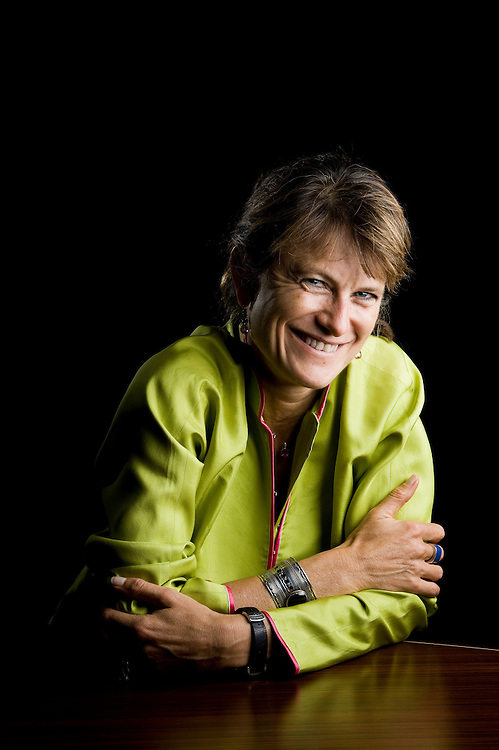 Jacqueline Novogratz, founder and CEO of Acumen Fund, a non-profit global venture fund that uses entrepreneurial approaches to solve the problems of global poverty, poses for a portrait on October 20, 2009 in Dubai, UAE. Photo by Siddharth Siva/arabianEye -Editorial portraits by Dubai photographer Siddharth Siva