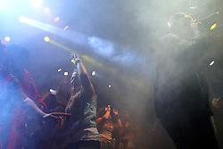 Comunidade Nin-Jitsu no palco Pretinho do Planeta Atlântida 2013/RS, que acontece nos dias 15 e 16 de fevereiro na SABA, em Atlântida. FOTO: Marcos Nagelstein/Preview.com