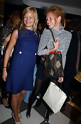 Left to right, sisters ALEXIA INGE and model OLIVIA INGE at a party to celebrate the opening of PPQ Mayfair at 47 Conduit Street, London W1 on 18th September 2006.<br />