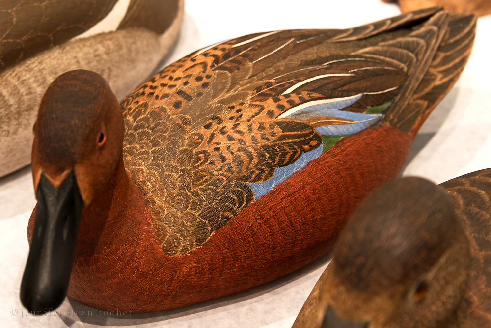 Bird carving by Harold Haertel