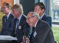 UTRECHT -  Bestuurslid Alfred Levi,   Algemene Ledenvergadering van de Nederlandse Golf Federatie NGF.   COPYRIGHT KOEN SUYK