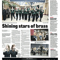 The North West Regional Brass Bands Championships take place in the Opera House, Empress Ballroom and Pavilion Theatre. <br /> 75 bands taking part to qualify for the GB championships, with more than 2400 musicians playing. Local bands include Blackpool Brass, Thornton Cleveleys, Tarleton, Pilling, Poulton.