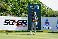 Adrian Otaegui (ESP) on the 2nd during Round 2 of the Oman Open 2020 at the Al Mouj Golf Club, Muscat, Oman . 28/02/2020<br /> Picture: Golffile | Thos Caffrey<br /> <br /> <br /> All photo usage must carry mandatory copyright credit (© Golffile | Thos Caffrey)