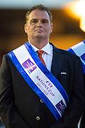 Podium Nations Cup 1. The Netherlands - Diederik van Silfhout - Arlando N.O.P., Danielle Heijkoop - Siro, Adelinde Cornelissen - Jerich Parsifal, Hans Peter Minderhoud - Glock's Johnson Tn. N.O.P.<br /> Nations Cup CDIO5*<br /> CHIO Rotterdam 2016<br /> © DigiShots