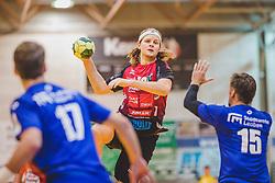 29.09.2018, Sporthalle Leoben-Donawitz, Leoben, AUT, HLA, Union JURI Leoben vs Sparkasse Schwaz HANDBALL TIROL, im Bild Isak Rafnsson (Sparkasse Schwaz HANDBALL TIROL) // during the Handball League Austria, match between Union JURI Leoben vs Sparkasse Schwaz HANDBALL TIROL at the sport Hall, Leoben, Austria, 2018/09/29, EXPA Pictures © 2018, PhotoCredit: EXPA/ Dominik Angerer