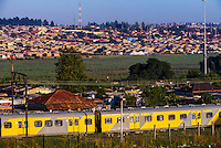 Metrorail commuter train, Soweto (South Western Townships), Johannesburg, South Africa.