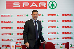 Igor Mervic of Spar Slovenia at press conference before Finals of Spar Cup 2018, on January 31, 2018 in Ljubljana, Slovenia. Photo by Urban Urbanc / Sportida