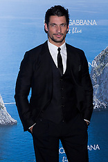 MAY 29 2013 David Gandy: Dolce & Gabbana Mediterranean Summer Cocktail party