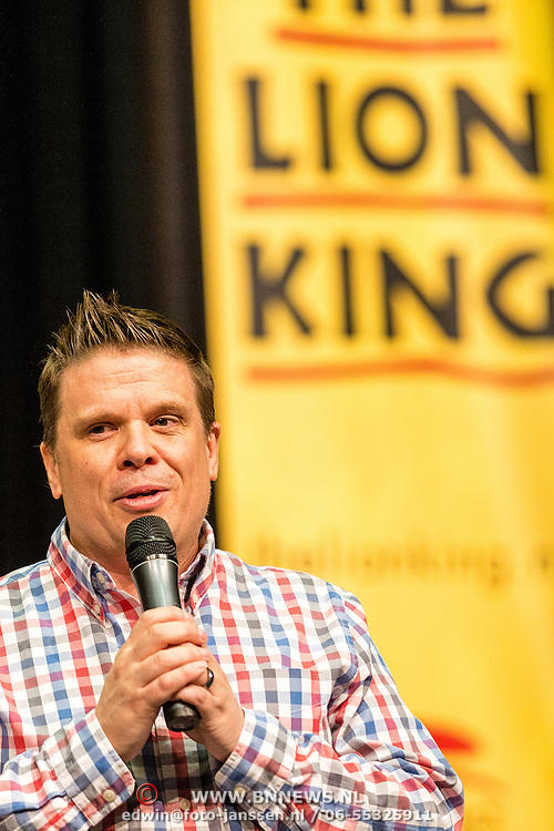 NLD/Aalsmeer/20160920 - Castpresentatie The Lion King,