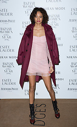 Malaika Firth attending the Harper's Bazaar Woman of the Year awards at Claridges in London. Picture date: Monday October 31, 2016. Photo credit should read: Isabel Infantes / EMPICS Entertainment.