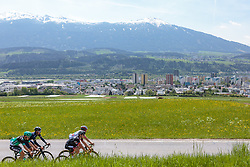 25.04.2018, Innsbruck, AUT, ÖRV Trainingslager, UCI Straßenrad WM 2018, im Bild Patrick Konrad (AUT), Stefan Denifl (AUT), Michael Gogl (AUT), Gregor Mühlberger (AUT) // during a Testdrive for the UCI Road World Championships in Innsbruck, Austria on 2018/04/25. EXPA Pictures © 2018, PhotoCredit: EXPA/ JFK