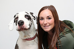 "EXCLUSIVE: A Great Dane who didn't like cats has stopped a kitten going blind by donating blood used in sight-saving eye drops. Huge dog Harlie, who weighs around nine stone, put her best paw forward to give blood used to treat Zephyr the rescued kitten. Vets treated eight-week-old Zephyr with serum drops which used elements of Harlie's blood after it has been separated using a centrifuge. The liquid part of the blood is made into drops which help the surface of the eye to heal and stop the tissue breaking down. Rescuers feared the worst for Zephyr but her sight has now been saved thanks to her huge donor friend Harlie. Steph Taylor, from charity Rescue Me Animal Sanctuary, said Zephyr was found with three siblings under a shed in Liverpool, England. She said: ""They were all full of flu which had led to secondary pneumonia, horrific conjunctivitis with ulcerated eyes, ticks, severe flea infestation leading to anaemia and dehydration. ""The serum from Harlie was fairly unusual for us to use and we have never done it before, there are several types of conventional medicated drops and we used these first but as Zephyr was not responding to these, our vet suggested it. ""We had heard of it once before when another rescue spoke about it and they had amazing results. ""We have four dogs at our HQ but sadly none were suitable blood donors due to their size, age or health problems so we had to turn to the public for help… and along came Harlie."" Harlie's owner Jess said she wanted to help but at first she feared Harlie wasn't used to cats and it might not be a good idea for her to meet Zephyr in person. Jess, 30, a foster carer from Liverpool, England, said meeting Zephyr was the first time her huge hound had met a feline in person. Jess, who has three other dogs, a Staffordshire bull terrier, and two shih tzu Yorkshire terriers, said she wanted to help after seeing an appeal for blood donors to produce the serum used for the eye drops. She said: ""We were"