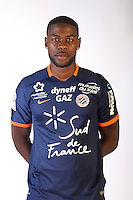 William Remy during the photocall of Montpellier for new season of Ligue 1 on September 27th 2016 in Montpellier<br /> Photo : Mhsc / Icon Sport