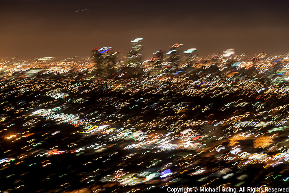 purposeful camera shake to enhance mood of earthquake risk in Los Angeles