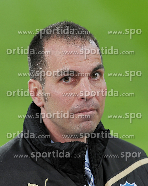 16.03.2012, Wirsol-Rhein-Neckar Arena, Hoffenheim, GER, 1. FBL, 1899 Hoffenheim vs VFB Stuttgart, 26. Spieltag, im Bild Markus Babbel (Hoffenheim Trainer) // during the German 'Bundesliga' Match, 26th Round, between 1899 Hoffenheim and VFB Stuttgart at the Wirsol-Rhein-Neckar Arena, Hoffenheim, Germany on 2012/03/16. EXPA Pictures © 2012, PhotoCredit: EXPA/ Eibner/ Ulrich Roth..***** ATTENTION - OUT OF GER *****