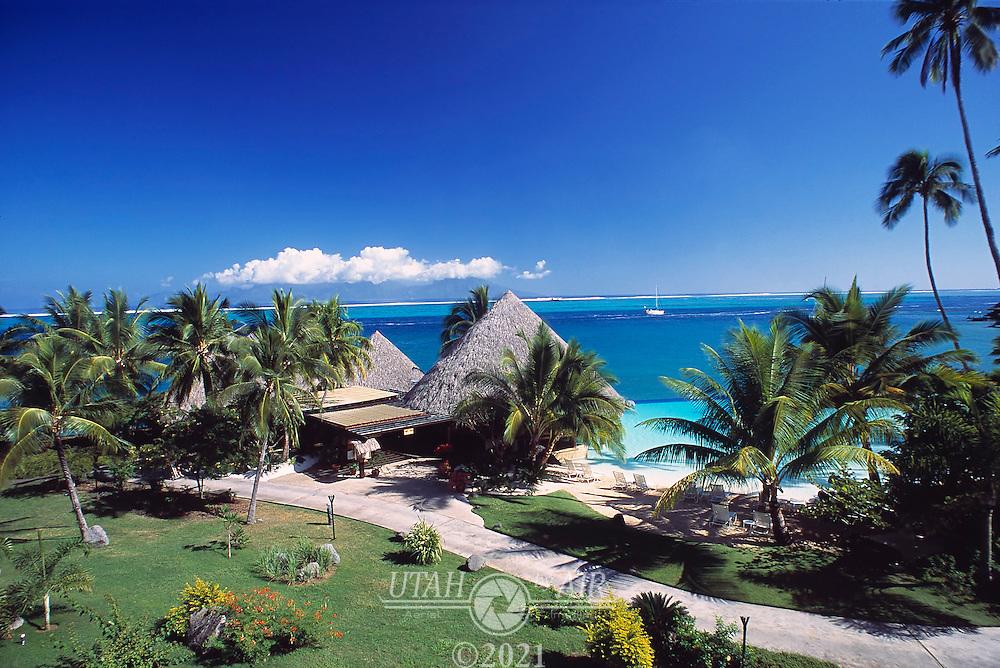 The Beachcomber Hotel in Papeete, Tahiti
