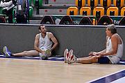 DESCRIZIONE : Dinamo Banco di Sardegna Sassari All Stars Legends Night<br /> GIOCATORE : Emanuele Rotondo Mauro Bonino<br /> CATEGORIA : Stretching Before Pregame<br /> SQUADRA : Dinamo Banco di Sardegna Sassari<br /> EVENTO : Dinamo Banco di Sardegna Sassari All Stars Legends Night<br /> GARA : Dinamo Banco di Sardegna Sassari - Alba Berlino Veterans<br /> DATA : 14/05/2016<br /> SPORT : Pallacanestro <br /> AUTORE : Agenzia Ciamillo-Castoria/L.Canu