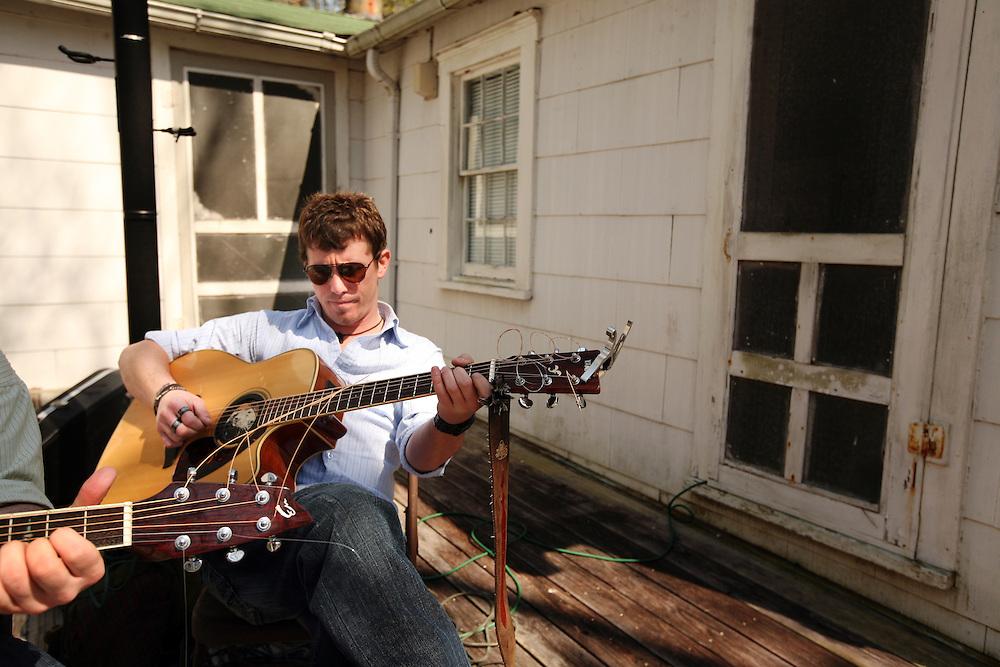Porch tunes