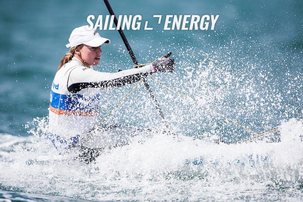 2015 ISAF Sailing World Cup Final, Abu Dhabi, United Arab Emirate. Eight Olympic sailing events are being contested along with open kiteboarding from 29th Octoberto November 1st, 2015. The host, Abu Dhabi Sailing and Yacht Club, is located on the main island of the city with immediate access to the racing areas around Lulu island and the Corniche.<br /> <br /> <br /> Credit Pedro Martinez/Sailing Energy/ Isaf
