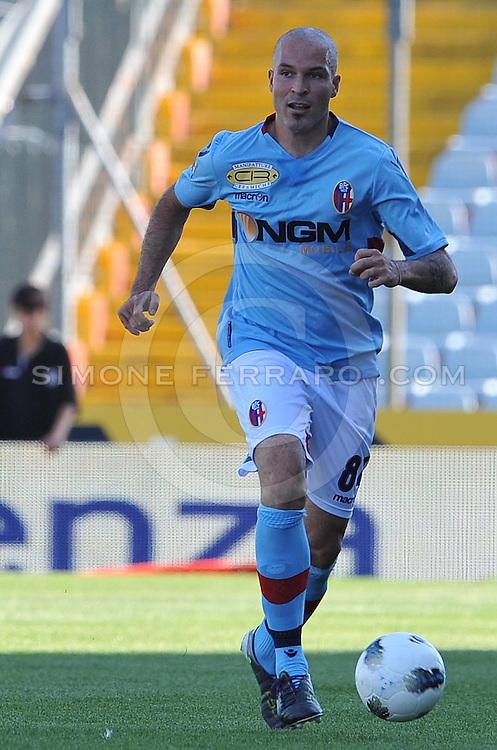 Udine, 02 Ottobre 2011.Campionato di calcio Serie A 2011/2012  6^ giornata..Udinese vs Bologna. Stadio Friuli..Nella foto: Andrea Raggi..© foto di Simone Ferraro