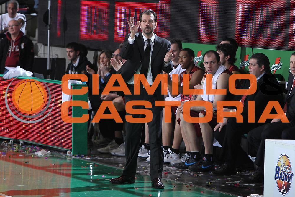 DESCRIZIONE : Treviso Lega A 2011-12 Umana Venezia Montepaschi Siena<br /> GIOCATORE : Andrea Mazzon Coach<br /> SQUADRA : Umana Venezia Montepaschi Siena<br /> EVENTO : Campionato Lega A 2011-2012 <br /> GARA : Umana Venezia Montepaschi Siena<br /> DATA : 29/01/2012<br /> CATEGORIA : Ritratto<br /> SPORT : Pallacanestro <br /> AUTORE : Agenzia Ciamillo-Castoria/G.Contessa<br /> Galleria : Lega Basket A 2011-2012 <br /> Fotonotizia : Treviso Lega A 2011-12 Umana Venezia Montepaschi Siena<br /> Predfinita :