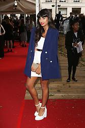 Jameela Jamil, Glamour Women of the Year Awards, Berkeley Square Gardens, London UK, 02 June 2014, Photos by Richard Goldschmidt /LNP © London News Pictures