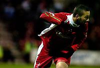 Photo: Alan Crowhurst.<br />Swindon Town v Bury FC. Coca Cola League 2. 25/11/2006. Swindon's Christian Roberts celebrates his late winner 2-1.