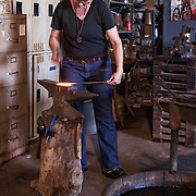 Tiger & Erin Flores, blacksmiths, of Earthen Metals in Elgin, Texas