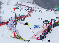 22.01.2012, Ganslernhang, Kitzbuehel, AUT, FIS Weltcup Ski Alpin, 72. Hahnenkammrennen, Herren, Slalom 1. Durchgang, im Bild Manfred Pranger (AUT) // Manfred Pranger of Austria during Slalom race 1st run of 72th Hahnenkammrace of FIS Ski Alpine World Cup at 'Ganslernhang' course in Kitzbuhel, Austria on 2012/01/22. EXPA Pictures © 2012, PhotoCredit: EXPA/ Johann Groder