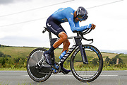 Marc Soler (ESP - Movistar) during the 105th Edition of Tour de France 2018, cycling race stage 20, time trial, Saint Pee sur Nivelle - Espelette (31 km) on July 28, 2018 in Espelette, France - Photo Luca Bettini / BettiniPhoto / ProSportsImages / DPPI