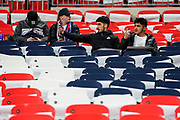 Fans start to filter into Wembley Stadium during the International Friendly match between England and USA at Wembley Stadium, London, England on 15 November 2018.