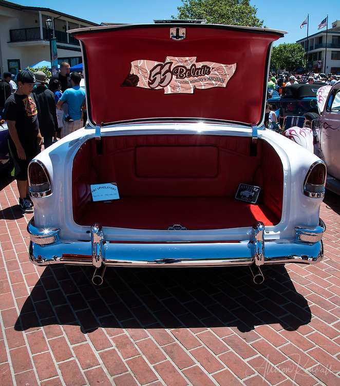 Monterey Rock & Rod Festival 10 - Classic cars and hot rods on display at Custom House Plaza in Monterey, California 2016