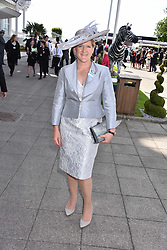 Claire Balding at The Investec Derby, Epsom, Surrey England. 3 June 2017.<br /> Photo by Dominic O'Neill/SilverHub 0203 174 1069 sales@silverhubmedia.com