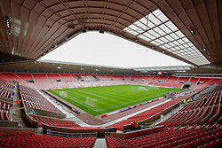 A general view inside the stadium - Photo mandatory by-line: Rogan Thomson/JMP - 07966 386802 - 27/08/2014 - SPORT - FOOTBALL - Sunderland, England - Stadium of Light - Sunderland v Swansea City - Barclays Premier League.