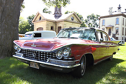01 August 2015:  1959 Buick Invicta - Jim & Dee Miller.<br /> <br /> Displayed at the McLean County Antique Automobile Association Car show at David Davis Mansion in Bloomington Illinois