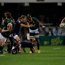 Baptiste Serin of France during the 2nd Castle Lager Incoming Series Test match between South Africa and France at Growthpoint Kings Park on June 17, 2017 in Durban, South Africa. (Photo by Steve Haag Sports)