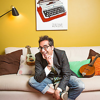 Danny Katz is an author and will be a jodge for the upcoming RoyalAuto writing competition.<br /> Picture by Shannon Morris. 23.11.16