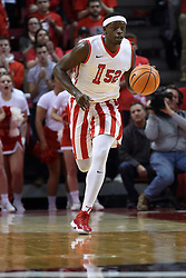 17 February 2018:  Milik Yarbrough during a College mens basketball game between the University of Northern Iowa Panthers and Illinois State Redbirds in Redbird Arena, Normal IL