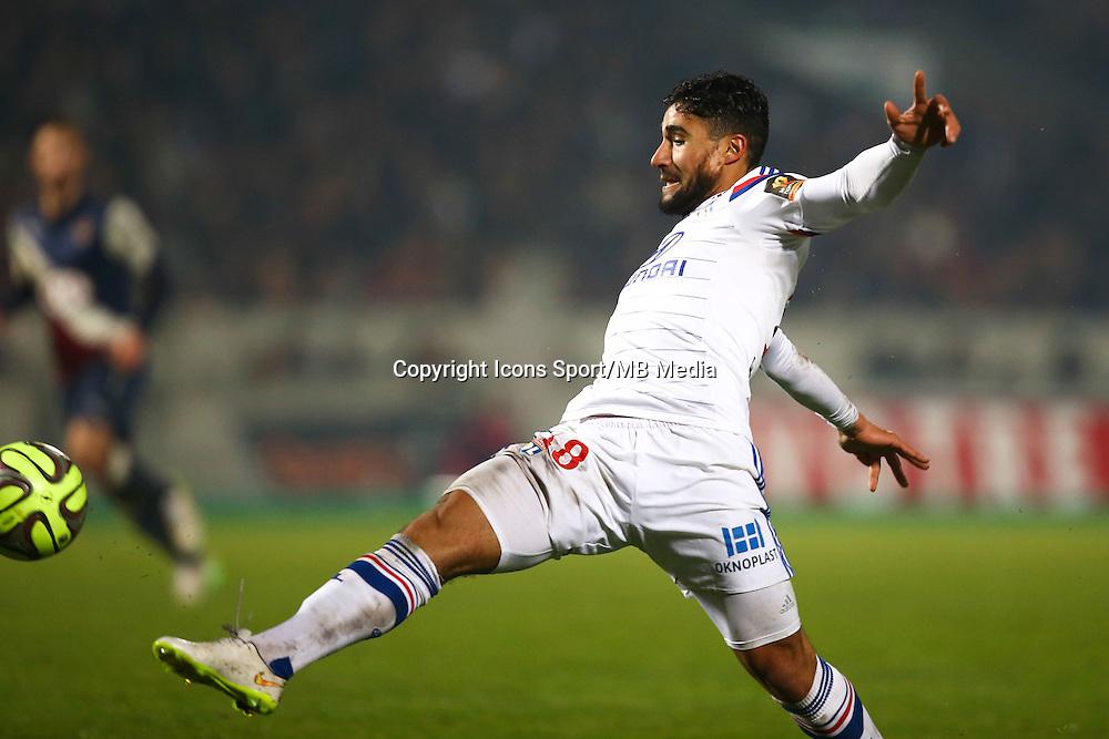 Nabil Fekir - 21.12.2014 - Bordeaux / Lyon - 19eme journee de Ligue 1 -<br />Photo : Manuel Blondeau / Icon Sport