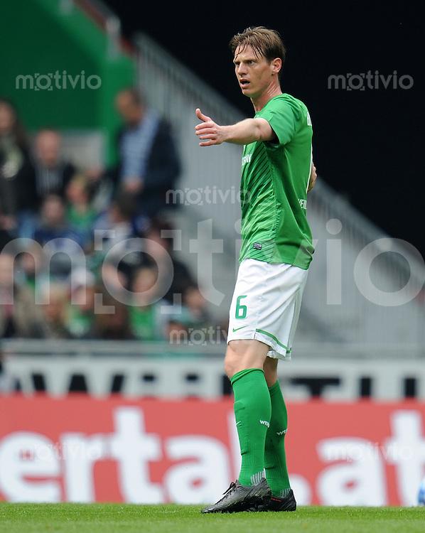 FUSSBALL   1. BUNDESLIGA   SAISON 2011/2012   34. SPIELTAG SV Werder Bremen - FC Schalke 04                       05.05.2012 Marko Arnautovic (SV Werder Bremen)