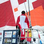 Arrivée du Vendée-Globe 2016-2017 après 105 jours de mer