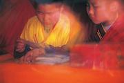 Monks<br /> Choibalsan Monastery<br /> Eastern Mongolia