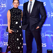Rav Wilding,Jill Morgan, attends BBC1's National Lottery Awards 2019 at BBC Television Centre, 101 Wood Lane, on 15 October 2019, London, UK.