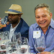 Seattle Wine Awards and Happy Hour Radio Celebrity Wine Challenge 2015. David LeClaire, Seattle Uncorked. Photo by Alabastro Photography.