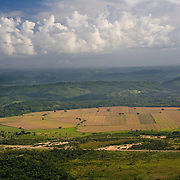 Aerial of Spanish Lookout, Belize