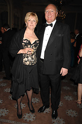 ALASTAIR DICKSON and his wife BELINDA DICKSON OBE the leading knitwear designer at a dinner to celebrate the publication Jacqueline Pascarl's book 'Since I Was a Princess' a story of her work as an aid worker for CARE International held at Claridge's, Brook Street, London on 17th April 2007.<br /><br />NON EXCLUSIVE - WORLD RIGHTS