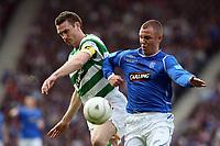 CIS Cup Final<br /> Celtic v Rangers<br /> Hampden Park<br /> Glasgow<br /> <br /> MCManus and Miller<br /> 15/03/2009 Credit Colorsport / Ian MacNicol