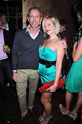 PATRICK COX and TAMSIN LONSDALE at a party hosted by the Supper Club in honour of Mary Greenwell held at Beach Blanket Babylon, Ledbury Road, London on 25th June 2008.<br /><br />NON EXCLUSIVE - WORLD RIGHTS