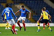 Gareth Evans (26) of Portsmouth during the Leasing.com EFL Trophy match between Oxford United and Portsmouth at the Kassam Stadium, Oxford, England on 8 October 2019.